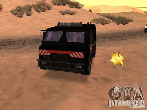 AM 7.0 Umbrella Corporation для GTA San Andreas вид сбоку