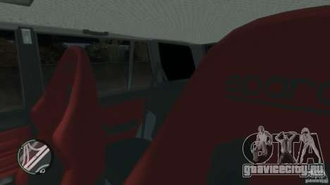 ВАЗ 2104 Tuning для GTA 4 салон