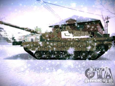 M1A2 Abrams из Battlefield 3 для GTA San Andreas вид справа