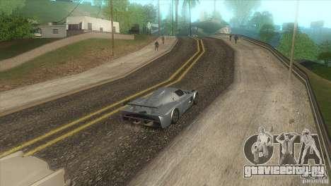 Качественные дороги в LS для GTA San Andreas пятый скриншот