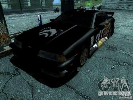 Винил Биг-Лу из Most Wanted для GTA San Andreas вид сзади слева