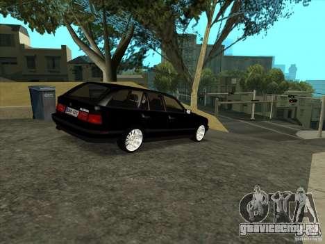 BMW E34 535i Touring для GTA San Andreas вид справа