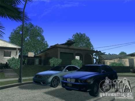 BMW M5 E39 2003 для GTA San Andreas вид сбоку