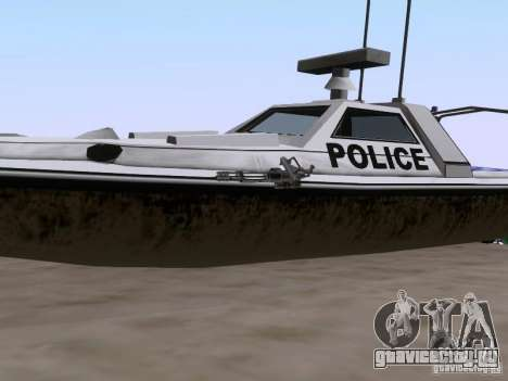 NEW Predator для GTA San Andreas вид сзади