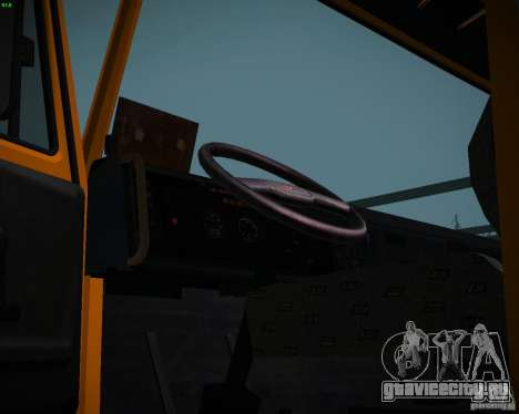 КамАЗ 6520 Самосвал для GTA San Andreas вид справа