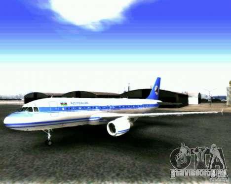 Airbus A-320 Azerbaijan Airlines для GTA San Andreas