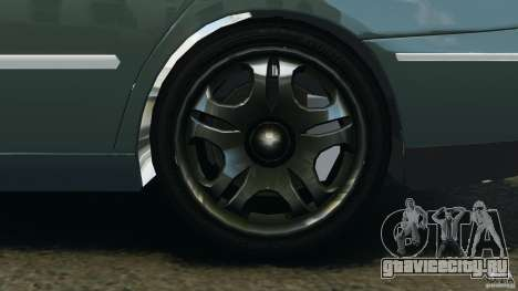 Hyundai Azera для GTA 4 вид сзади