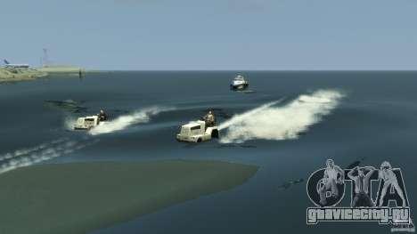 Airtug boat для GTA 4 вид сбоку