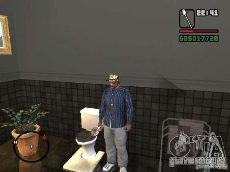 Туалетная Щетка для GTA San Andreas четвёртый скриншот