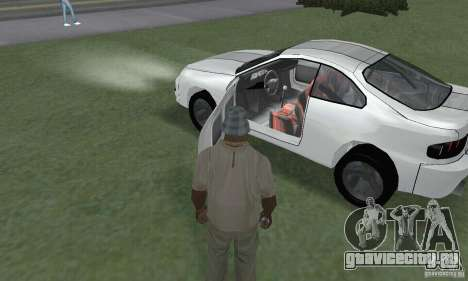 Toyota Celica GT4 2000 для GTA San Andreas вид сзади