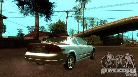 Oldsmobile Alero 2003 для GTA San Andreas вид справа