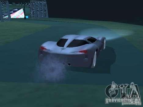 Chevrolet Corvette Stingray для GTA San Andreas вид справа