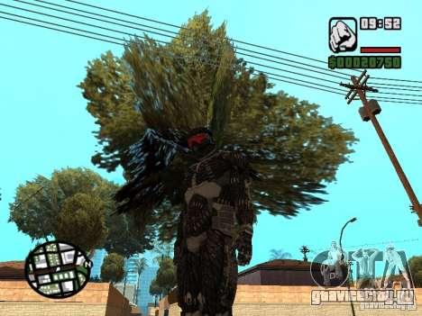 Crysis Nano Suit для GTA San Andreas второй скриншот