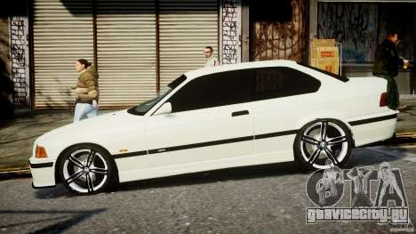 BMW e36 M3 для GTA 4 вид слева