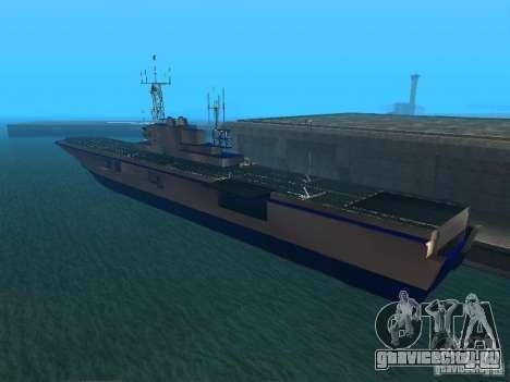 Авианосец для GTA San Andreas второй скриншот