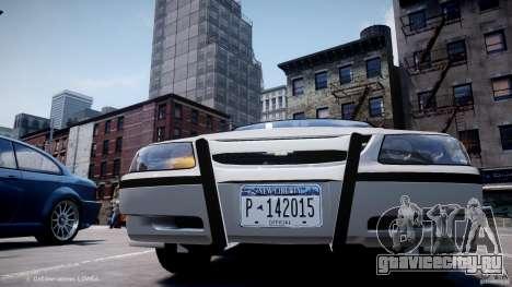 Chevrolet Impala Unmarked Police 2003 v1.0 [ELS] для GTA 4 вид снизу