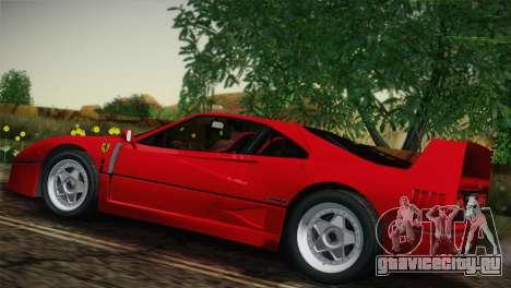 Ferrari F40 1987 для GTA San Andreas