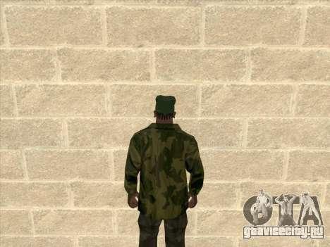 Камуфляжная куртка для GTA San Andreas второй скриншот