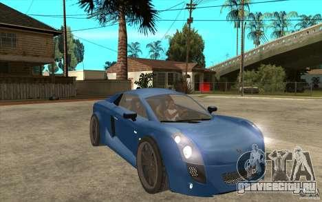 Mastretta MXT v1.1 для GTA San Andreas вид сзади