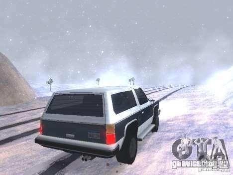Snow MOD HQ V2.0 для GTA San Andreas седьмой скриншот