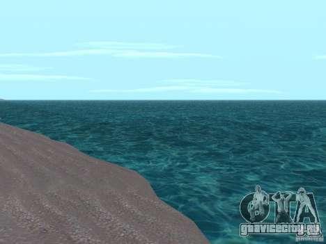 Новые текстуры воды и дыма для GTA San Andreas второй скриншот