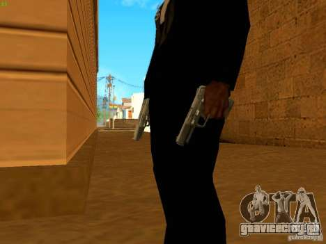 Five-Seven MW3 для GTA San Andreas третий скриншот