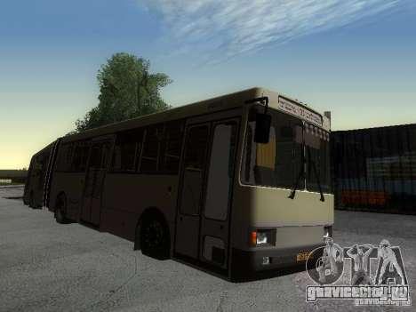 ЛАЗ-А291 для GTA San Andreas вид справа