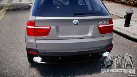 BMW X5 xDrive 4.8i 2009 v1.1 для GTA 4 вид сверху