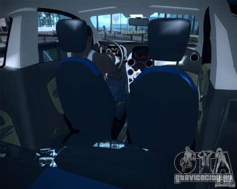 Ford Ka 2011 для GTA San Andreas вид сзади слева