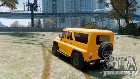 УАЗ-3159 (Барс) для GTA 4 вид справа