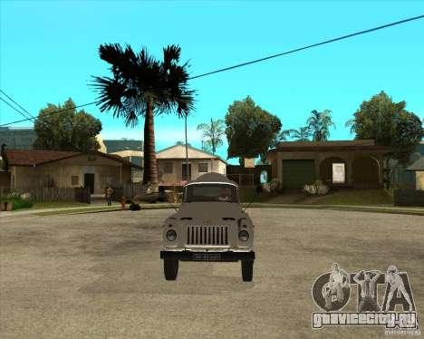 ГАЗ-52 Бензовоз для GTA San Andreas вид сзади