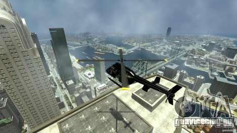 Helicopter Generation-GTA для GTA 4 вид изнутри