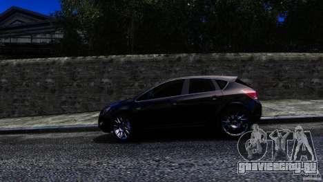 Opel Astra для GTA 4 вид сзади слева