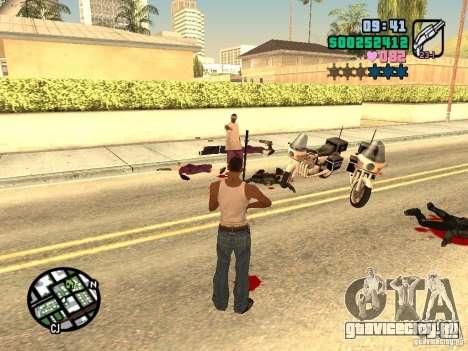 Vice City Hud для GTA San Andreas шестой скриншот