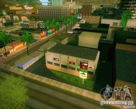 Новые текстуры All Saints General Hospital для GTA San Andreas второй скриншот