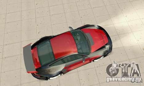Porsche 911 GT2 NFS Undercover для GTA San Andreas вид справа