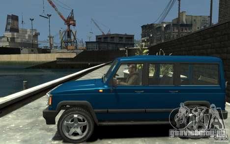 УАЗ 3170 для GTA 4 вид слева