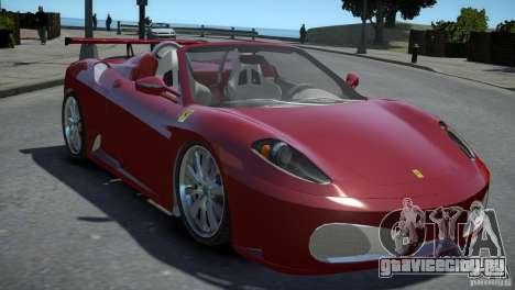 Ferrari F430 Spider для GTA 4 вид справа