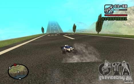 High-speed line для GTA San Andreas