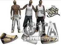Skin Pack Vagos для GTA San Andreas