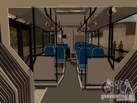 Прицеп для ЛиАЗ 6213.70 для GTA San Andreas вид справа