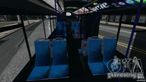Solaris Urbino 12 MTA для GTA 4 вид справа