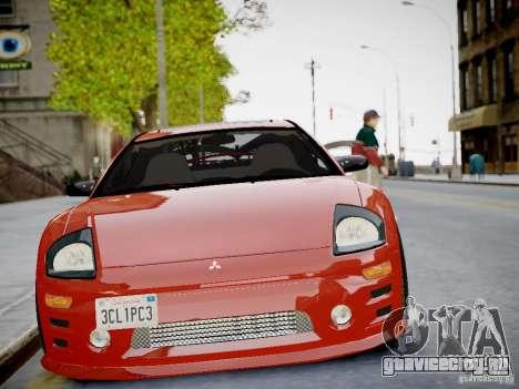 Mitsubishi Eclipse GT-S v1.0 для GTA 4 вид сзади