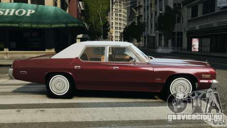 Dodge Monaco 1974 v1.0 для GTA 4 вид слева