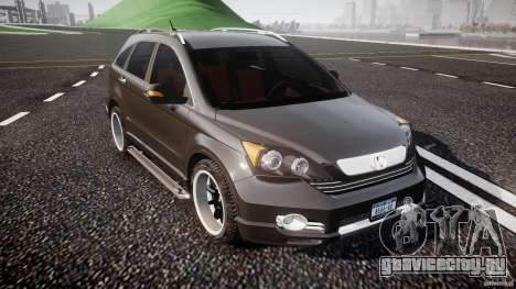 Honda C-RV 2007 SeX_BomB для GTA 4 вид изнутри