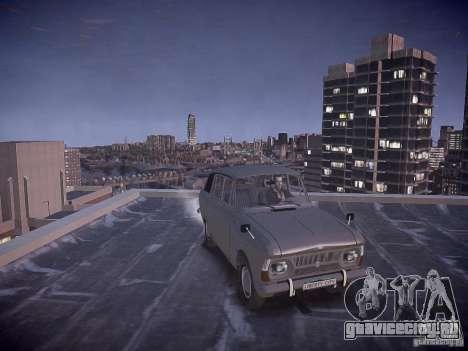 ИЖ 2125 Комби для GTA 4 вид сзади
