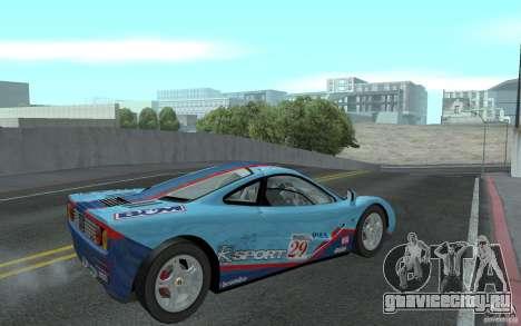 Mclaren F1 road version 1997 (v1.0.0) для GTA San Andreas вид справа