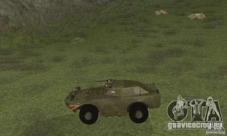 БРДМ-1 Скин 4 для GTA San Andreas вид сзади слева