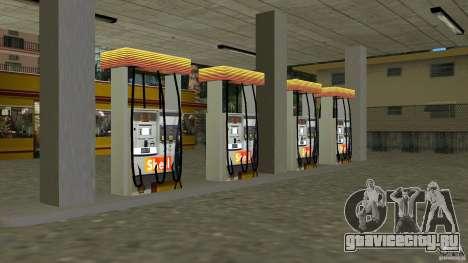 Shell Station для GTA Vice City третий скриншот