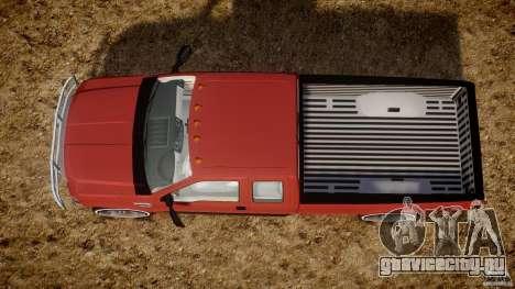 Ford F350 V8 2006 для GTA 4 вид справа